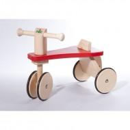 Runner mit Holzrädern