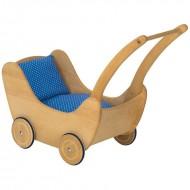Puppenwagen mit 2-teiligem Bettzeug