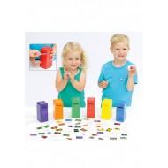 Farbenpost  - Sortierspiel