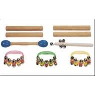 Rhythmiktasche 2 mit Einzelinstrumenten