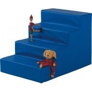 Treppe für Kugelbad