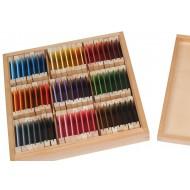 Farbtäfelchen Kasten III