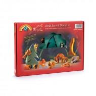 Wald Set mit Diorama 12-teilig