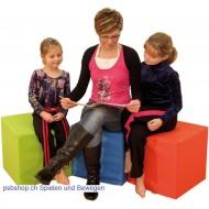 Kombifreudige Sitzmöbel - Sitzwürfel