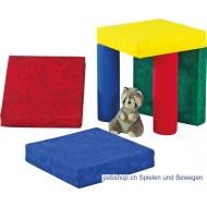 Sitz- und Spielkissen aus Qualitäts-Kunstleder
