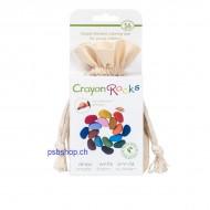 Crayon Rocks im Baumwollsäckchen, 16 Farben