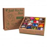 Crayon Rocks in Box , 32 Farben, 64 Stück