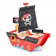 Piratenschiff Kleiner Kapitän, 17 x 30 x 29 cm, Alter: 18 Monate +
