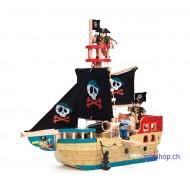 Jolly Piraten Schiff, L 50 cmx B 19 cm H 50 cm, ab 3-jährig