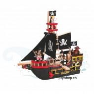 Barbarossa Piraten Schiff, L 49 x B19 x 48 cm, ab 3-jährig