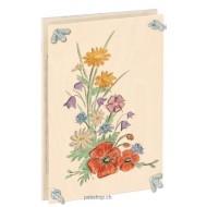 Blumenpresse bunt 24 x 16 x 6 cm, für Jung und Alt