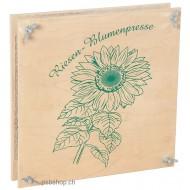 Riesen-Blumenpresse  30 x 30 x 6 cm, für Jung und Alt