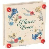 Flower-Press 19,5 x 19,5 x 6 cm, für Jung und Alt
