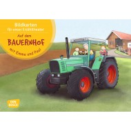 Auf dem Bauernhof mit Emma und Paul. Kamishibai Bildkartenset.