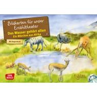 Das Wasser gehört allen. Ein Märchen aus Afrika, m. Audio-CD. Kamishibai Bildkartenset.