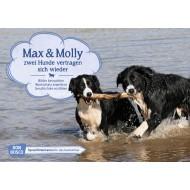 Max und Molly - zwei Hunde vertragen sich wieder. Kamishibai Bildkartenset.