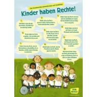 Wir haben Rechte! Die UN Kinderrechte als DIN-A1 Plakat