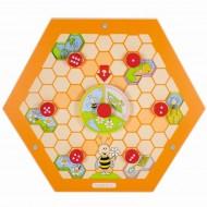Wandelement Bienenstock - Natur, drei Geschichten rund um den Honig entdecken.