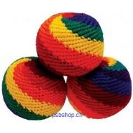 Kick Ball  für Kinder und Anfänger, Jonglierausrüstung 3-er Set, D ca.6 cm