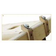Zubehör - Rollen für Sprungkasten 50 cm