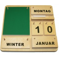 Holzkalender Creativ -Deutsch