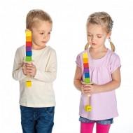 2 Balanciertürme, 70x70x295 mm, ab 4-jährig