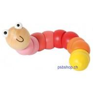 Biegetier Raupe, Spielzeug für Kleinkinder ab 10 M.