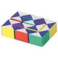 Gliederschlange, Kreative Puzzles und clevere Geduldspiele
