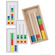 Farbstapelspiel ist ein Geduldsspiel, 100 x 205 x 35mm, Alter: 4+