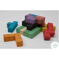 Pentominos 3D, 12 Quadratfünflinge