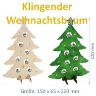 Klingender Weihnachtsbaum, H 22cm