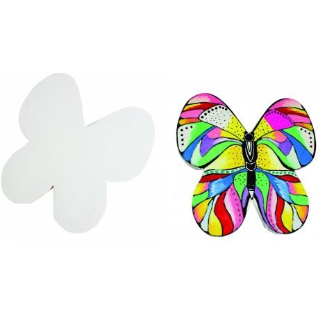 Schmetterling Leinwand für das Künstlerische Gestalten mit Kindern