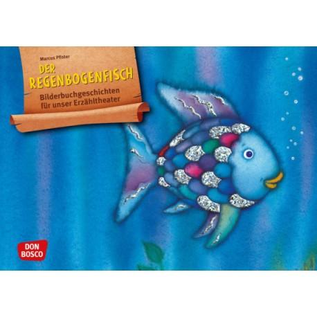 Der Regenbogenfisch, m. schillernden Schuppen. Kamishibai Bildkartenset
