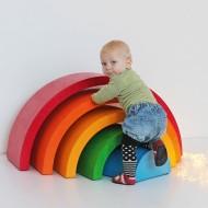 Regenbogen Spielbögen für Kleinkinder und Kitas