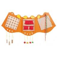 Sinnesbogen orange - Formen - 140 x 61 cm, ab 1 Jährig, Tasten und Fühlen