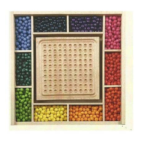 Das Mini-Kugelspiel Set, Inhalt für 5 Spieler