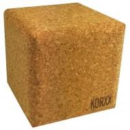 1 Stück Kreative Cube Zum selber gestalten - Kork-Baustein