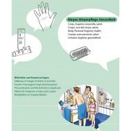 Kopiervorlagen Körper, Körperpflege, Gesundheit, Vocabular