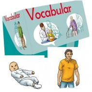 Vocabular, Wortschatzbilder Familie und soziales Umfeld