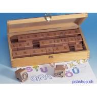 Buchstaben Kontur-Stempel - Set