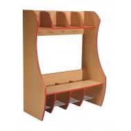 Garderobenschrank  Flinstone - 4 Plätze
