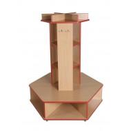 Freistehendes Garderobenmöbel - Flinstone