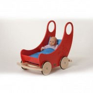 Wiege - Wagen - rot