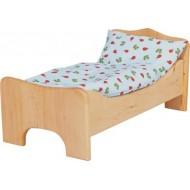 Bettwäsche passend zum Puppenbett