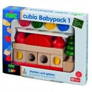 Babypack 1, CUBIO Steckbausteinen ab 10 Monaten