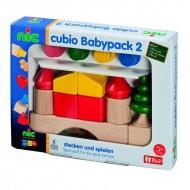 Babypack 2,  CUBIO Steckbausteine ab 10 Monaten