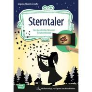 Sterntaler, eine Geschichte für unser Schattentheater mit Textvorlage und Figuren zum Ausschneiden