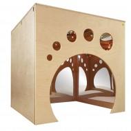 Spiel- und Kuschelhaus für Kleinkinder,die ideale Ergänzung für Rückzugszonen im Gruppenraum