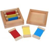Farbtäfelchen Kasten I