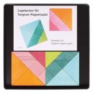Magnetspiel zwei Tangram & Vorlagen
